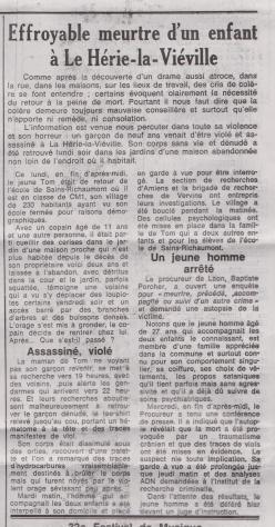 18-06-01 S 22 Meurtre à Le Hérie-la-Viéville.....(Le Démocrate)