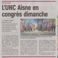 18-06-02 S 22 UNC Aisne en congrès.....(L'Aisne Nlle )