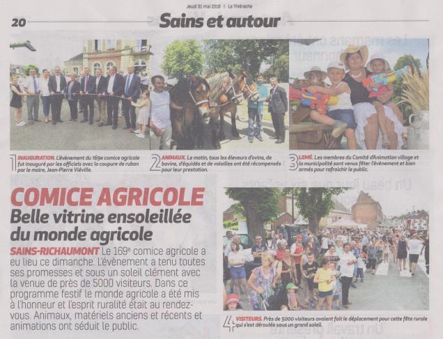 18-06-03 S 22 Ss-Richt. Comice agricole.1.....(La Thiérache du 31 )