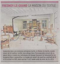 18-07-31 S 31 Fresnoy-le-Grand. La maison du textile .....(L'Aisne Nlle )