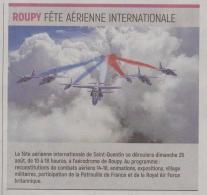 18-08-18 S 33 Roupy. Fête aérienne.....(L'Aisne Nlle )