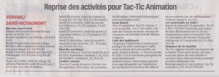 18-08-23 S 34 Reprise pour Tac-Tic Animation....(La Thiérache)