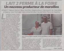18-08-30 S 35 Eparcy. Nouveau producteur de maroilles.....(La Thiérache )