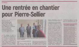 18-09-06 S 36 La Capelle. Travaux au collège Pierre-Sellier.....(L'Aisne Nlle )