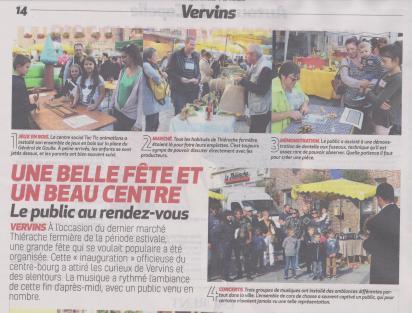 18-09-10 S 37 Vervins. Belle fête et beau centre.....(La Thiérache )