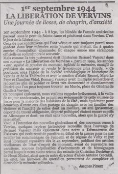 18-09-15 S 37 Libération de Vervins....(Le Démocrate du 31-08)
