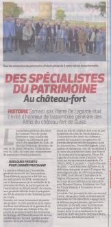 18-09-16 S 38 Guise. Au château fort.....(La Thiérache du 20)