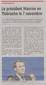 18-09-18 S 38 Macron en Thiérache....(L'Aisne Nlle.)