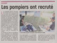 18-09-18 S 38 Ribemont. Les pompiers ont recruté....(L'Aisne Nlle.)