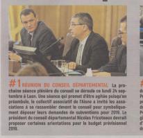 18-09-23 S 39 Réunion du conseil départemental....(L'Aisne Nlle.)