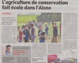 18-09-25 S 39 Agriculture de conservation.....(L'Agriculteur du 28-09)