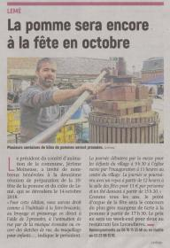 18-10-01 S 40 Lemé. Fête de la pomme....(L'Aisne Nlle.)