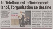 18-10-01 S 40 Téléthon 2018 lancé....(L'Aisne Nlle.)