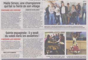 18-10-08 S 41 Fontaine-les-Vervins. Une championne et soirée espagnole.....(La Thiérache)