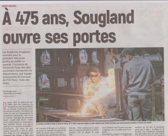 18-10-13 S 41 Les Fonderies Sougland à St Michel....(L'Aisne Nlle.)