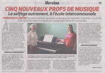 18-10-18 S 42 L'école intercommunale de musique....(La Thiérache)