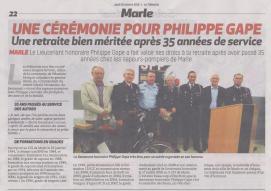 18-10-18 S 42 Marle. Cérémonie pour Philipe Gape....(La Thiérache)