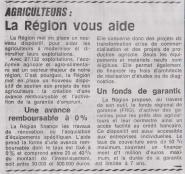 18-10-20 S 42 La région aide les agriculteurs....(Le Démocrate du 26)
